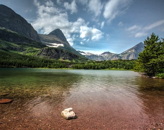 Red Rock Lake, Glacier National Park, Fine Art Photography, Nature Photography, Montana Art