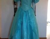 New Aqua Ariel Parks Parks Version Custom Costume Adult Womens 2 4 6 8