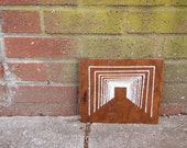 Entranced Wooden Embroidery Doorway