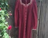 SALE// Prairie Gunne Sax Dress size large