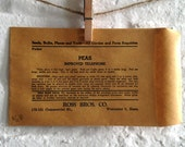 Vintage seed Packet or Pouch- Ross Bros.