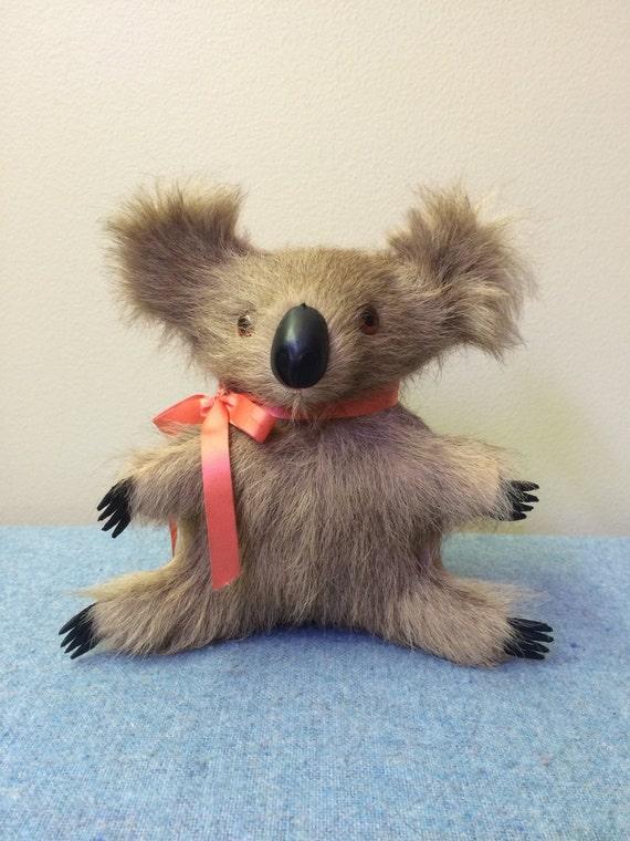 Real Koala Fur Bear Australian souvenir