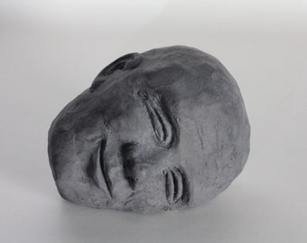 Smile - Concrete Head 6""