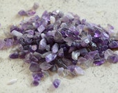 50g Amethyst Mini Chips Gemstone Beads Undrilled Embellishment