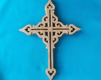 Wooden Wall Cross C17