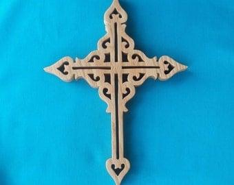 Wooden Wall Cross C17