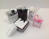 Dolls House Miniatures - The Cambridge shopping bag collection - NEW SPRING 2015