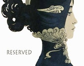 RESERVED for F. Vintage French laundry labels