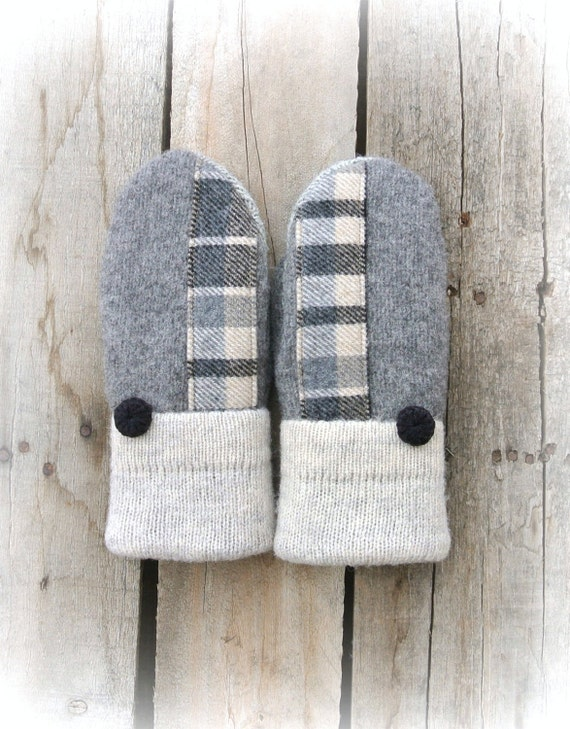 Wool Sweater Mittens For Sale 75