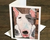 English Bull Terrier Cards