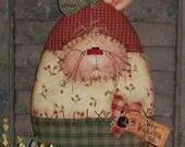 Primitive Patti's Ratties Bunny Rabbit Egg Easter Door Doll Pattern 289