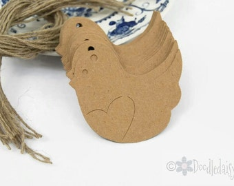 x24 Small Bird Gift tag, Favor tag, Craft label, Wishing Tree tag