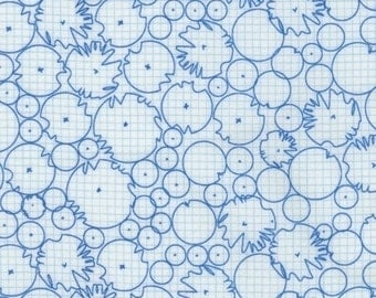 Architextures trees blue Carolyn Friedlander fabric FQ or more OOP HTF