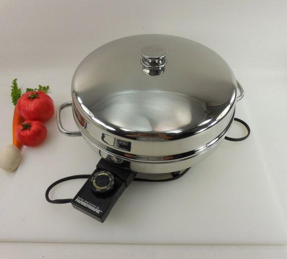 Farberware Electric Fry Pan Skillet Buffet Server By