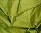 dupioni silk fabric - henna green fat quarter sld161