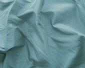 silk dupioni fabric - light cobalt blue 100% pure silk - fat quarter - sld163