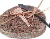 Granite Cheese Board, Granite Sushi Board, Stone Cheese Board, Stone Cutting Board, Stone Trivet, Stone Platter, Cheese Board LindaGeez