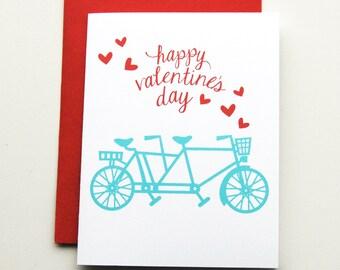 Bike Valentine  - Valentine'a Day Card