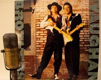 Stevie Ray Vaughan And Jimmie Vaughan Vintage Vinyl Lp