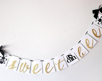 Sweet As Can Bee Banner Handcrafted In 2 5 Business Days Mommy To