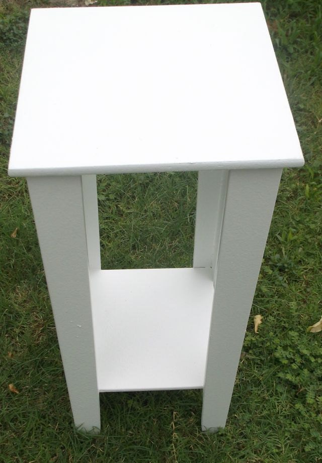 12 inch square nursery table nightstand end table by