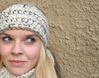 Ear Warmer, Headband, Unisex, Chunky Rib, Warm Ear Warmer, Unisex Ear Warmer,