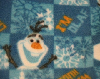 Olaf - Frozen Movie Character Handmade Blanket - Ready to Ship Now