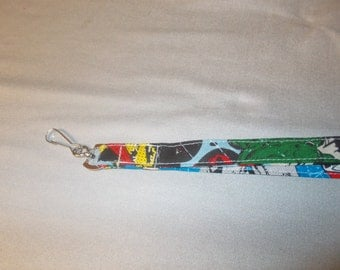 super hero lanyard