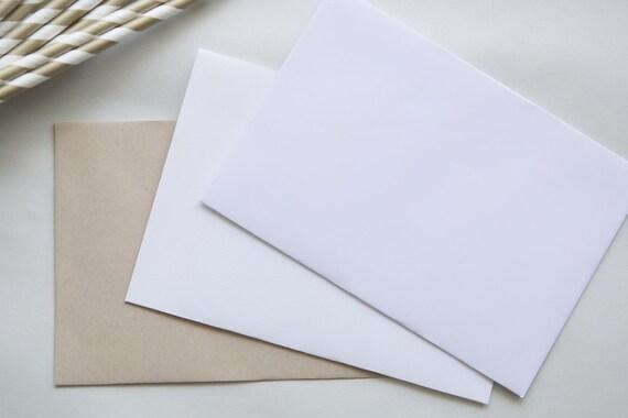 PEEL & SEAL C6 envelopes    card invitations    wedding engagement