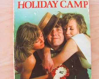 Confessions From A Holiday Timothy Lea Camp Vintage Paperback Book Pulp Fiction 1970s Novel Erotic Sex Romance Holiday Camp Northern Soul