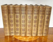 8 Leather Bound Books. Modern Eloquence. After Dinner Speeches. Occasional Addresses. Lectures:. Ancedotes.