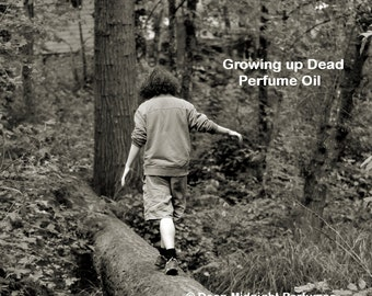 GROWING UP DEAD Perfume Oil - The Walking Dead Inspired - dark rich chocolate, milk, sweet citrus, sugary cereal, damp wet earth
