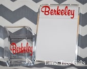 Monogram Pencil Cup AND Personalized Notepad Holder