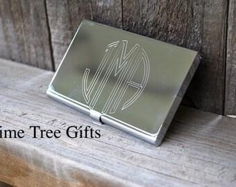 Business Card Holder - Engraved