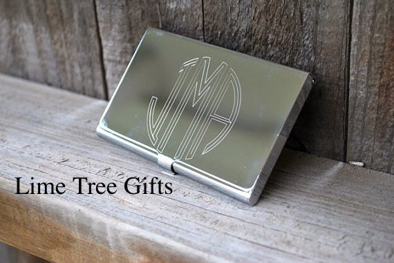 Business Card Holder Engraved