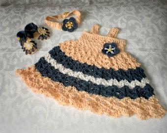 Sunflower 3 Piece Dress Set