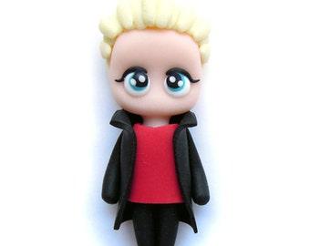 Spike - BtVS - Miniature Sculpture - Charm Figurine