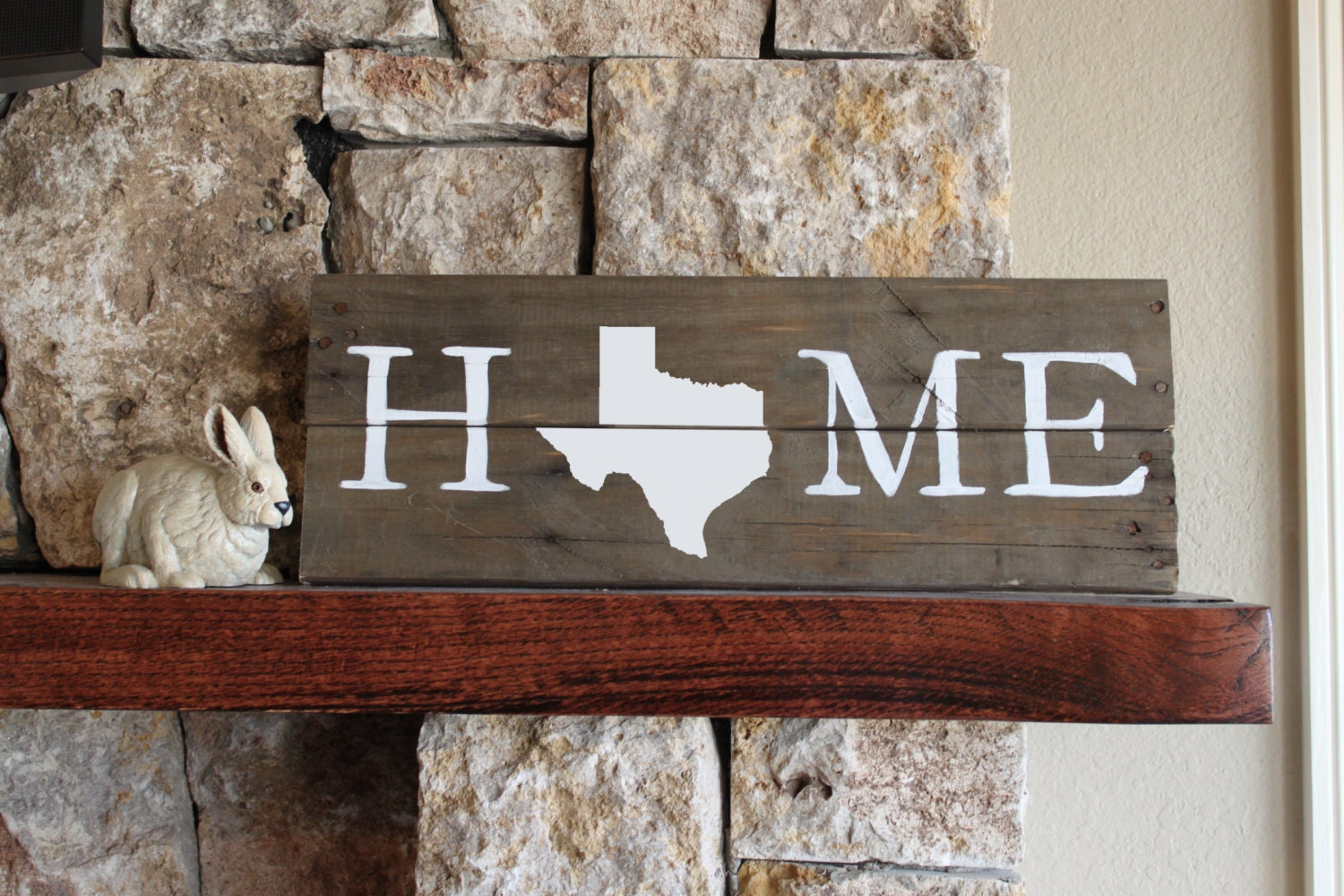 Texas home sign reclaimed wood sign tx sign texas artwork for Texas decorations for the home