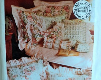 Vintage – Pillow Essentials – McCall's Home Decorating Pattern No. 7529