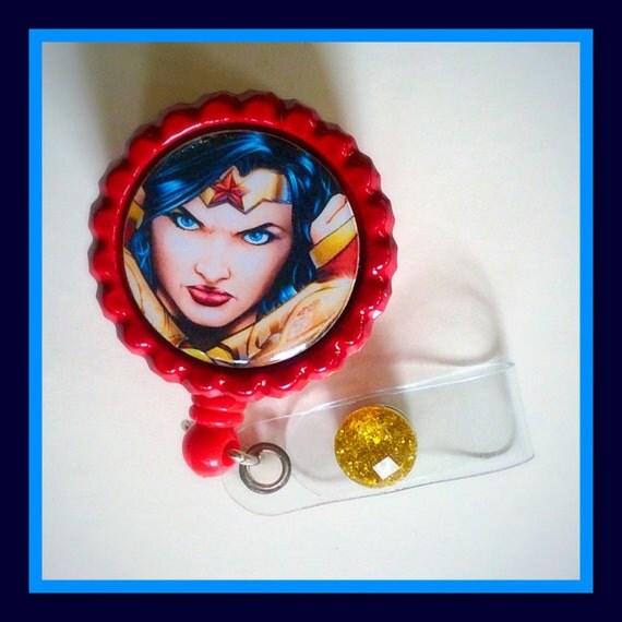 Superhero Wonder Woman  Ww Bottle Cap By 1Koolnursekreations-9672