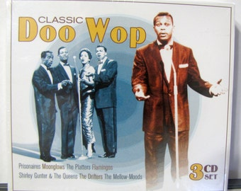 Doo Wop 50s Music Groups Sealed 3 CD Set 60 Songs