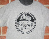 Dogs go Camping Unisex T Shirt