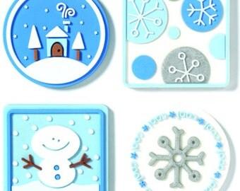Whimsical Winter Jellishments #1262 by Doodlebug