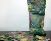 Floral Landscape Washable Eye Pillow Cover
