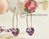 36•CARMEN•Hang Tags•1.5x1 inch•Earring Cards•Earring Display•Hoop Earring Cards