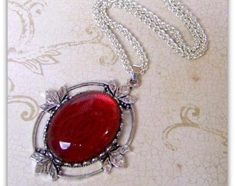 Once Upon a Time - Queen of Hearts - Replica Necklace, Disney Cosplay, Snow White, Replica Jewelry, Victorian Jewelry, Wonderland, Fairytale