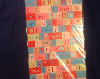 Words & Letters Cardstock stickers  --  Heidi Grace Designs  --  NEW --   (#904)