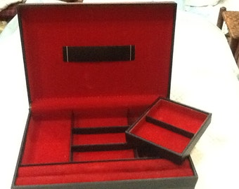 SWANK Men's Jewelry Box Made in Sweden