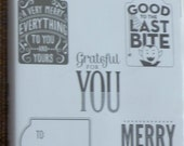 Merry Everything Clear Stamps