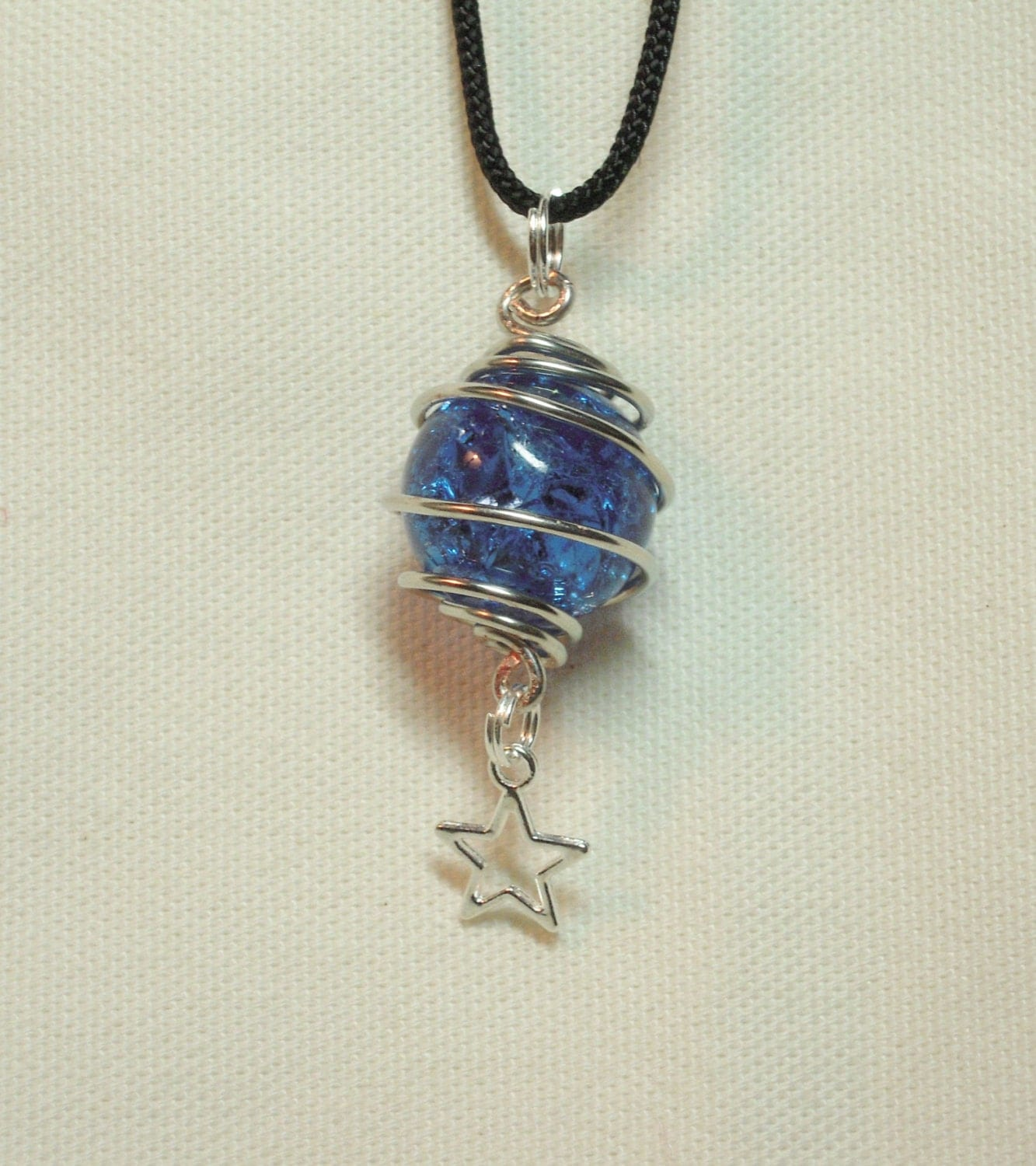Cracked marble necklace crackled marble jewelry fried marble for How to make marble jewelry